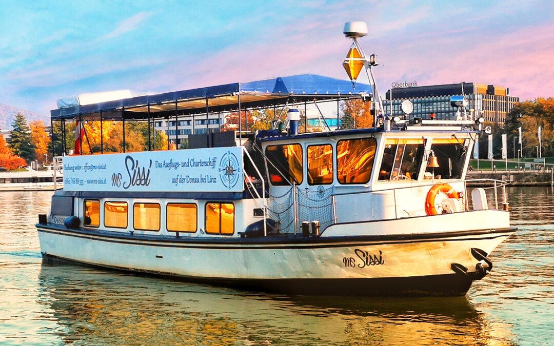 Feiern auf der Donau