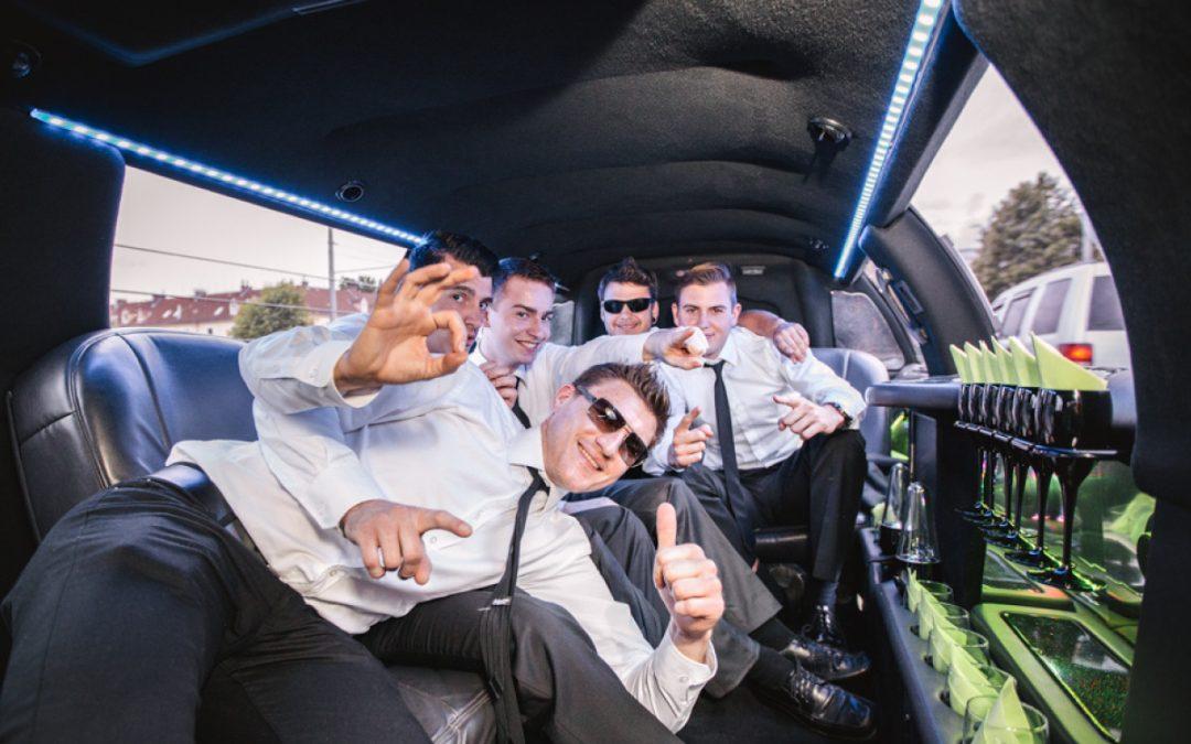 Klassische Stretch Limousine